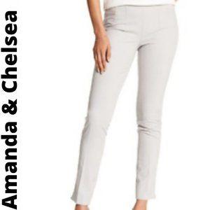 NWT Amanda & Chelsea Womens Side Zip Pants